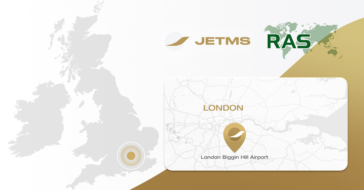 Jet MS acquires RAS Group and extends its services to London Biggin Hill Airport